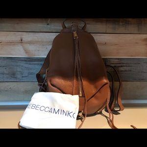 Cognac genuine cowhide medium Julian backpack